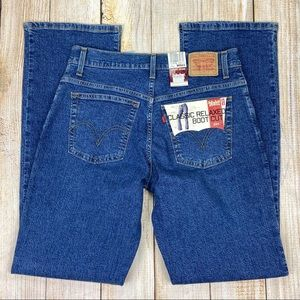 New LEVI'S 550 Classic Relaxed Boot Cut Jeans